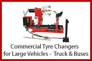 Commercial Tyre Changers for Larger Vehicles